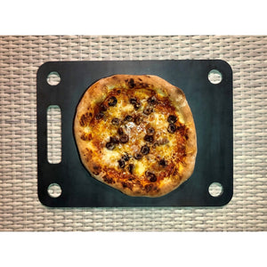 Low 'N Slow Steel Pizza Stone