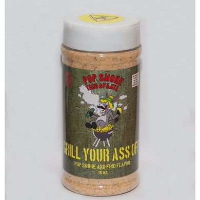 Grill Your Ass Off - Pop Smoke Taco & Fajita Seasoning