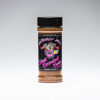 Heavenly Hell Sweet Succulent Swine BBQ Rub