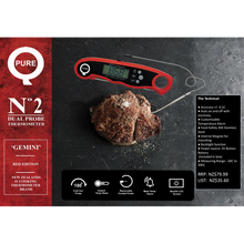 Load image into Gallery viewer, PureQ Gemini No2 Dual Probe Thermometer
