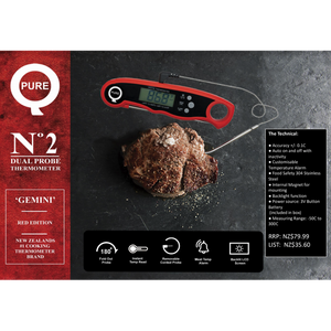 PureQ Gemini No2 Dual Probe Thermometer