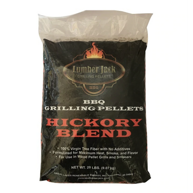 Lumber Jack 'Hickory Blend' Wood BBQ Pellets