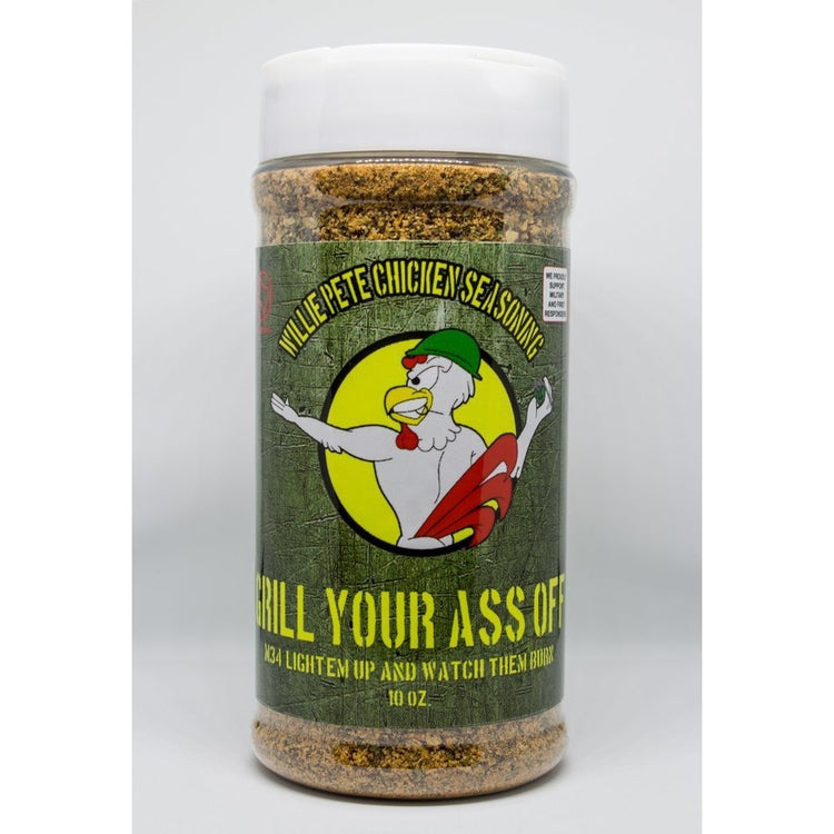Grill Your Ass Off - Wille Pete Chicken Seasoning