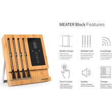 Load image into Gallery viewer, MEATER Block 4 Probe Thermometer Kit w' Wifi