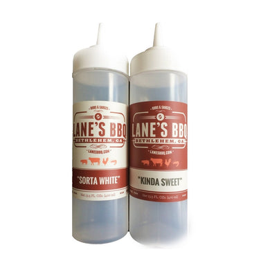 Lane's BBQ - Labelled Squeeze Bottle