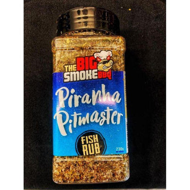 The Big Smoke BBQ - Piranha Pitmaster Fish Rub