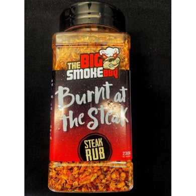 The Big Smoke BBQ - Burnt At The Steak Rub