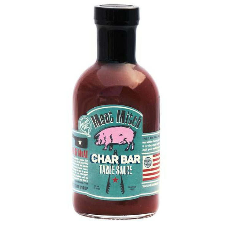 Meat Mitch Char Table BBQ Sauce