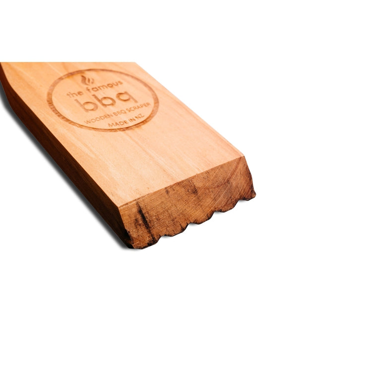 The Famous BBQ - Wooden BBQ Scraper