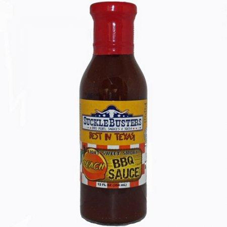 Suckle Busters Peach BBQ Sauce