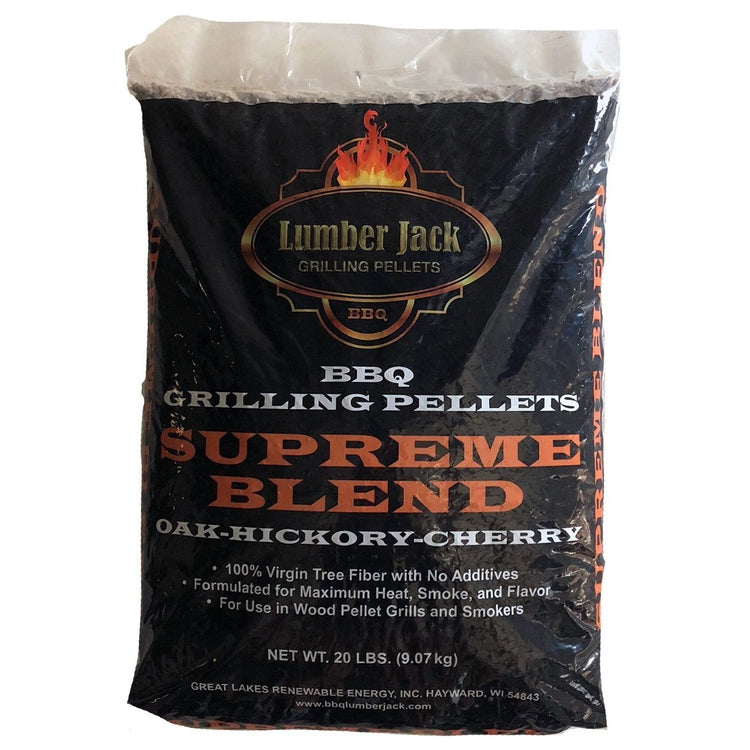 Lumber Jack 'Supreme Blend' Wood BBQ Pellets