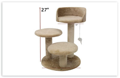 "27"" Casita Cat Tree"