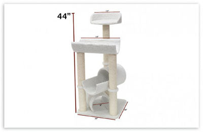 44″ Bungalow Cat Tree