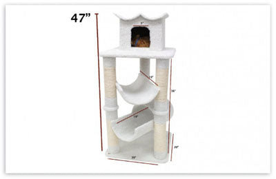 47″ Bungalow Cat Tree