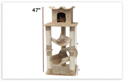 47″ Casita Cat Tree