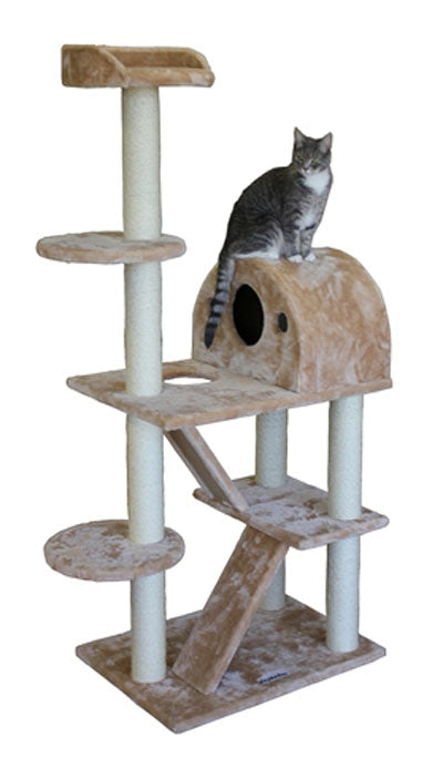 Kitty Mansions Phoenix Cat Tree ***FREE SHIPPING***