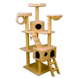 "73"" Bungalow Cat Tree"