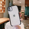 3D Diamond Pattern Transparent Phone Cases