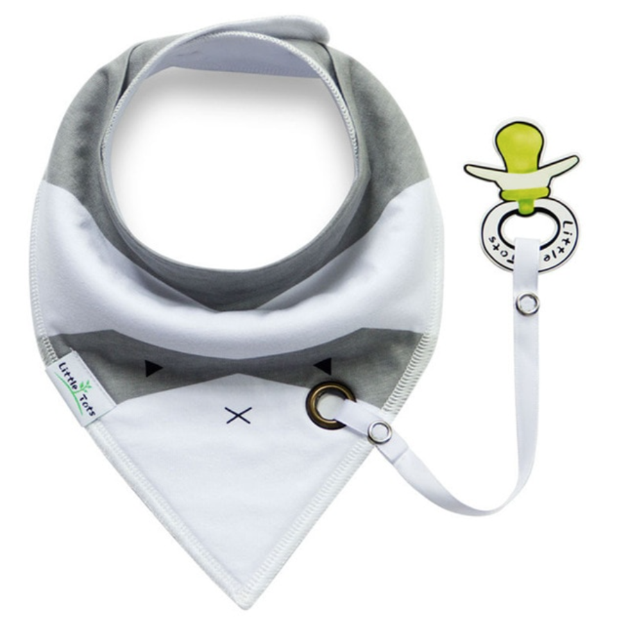 Cotton Bandana with Pacifier