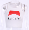Smokin' Crop Tank Top