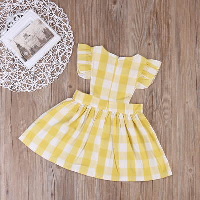 Isabella Vintage Pinafore Dress
