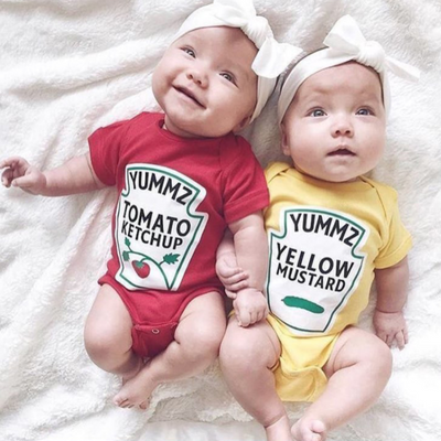 Ketchup and Mustard Bodysuits