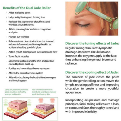 Real Jade Facial Roller