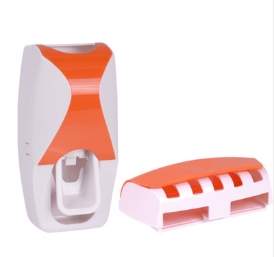 Toothbrush Holder and Automatic Toothpaste Dispenser