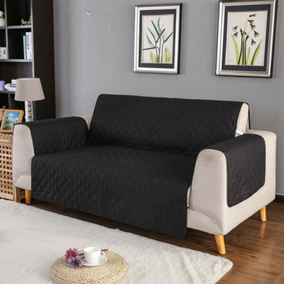 Black Pet Sofa Cover