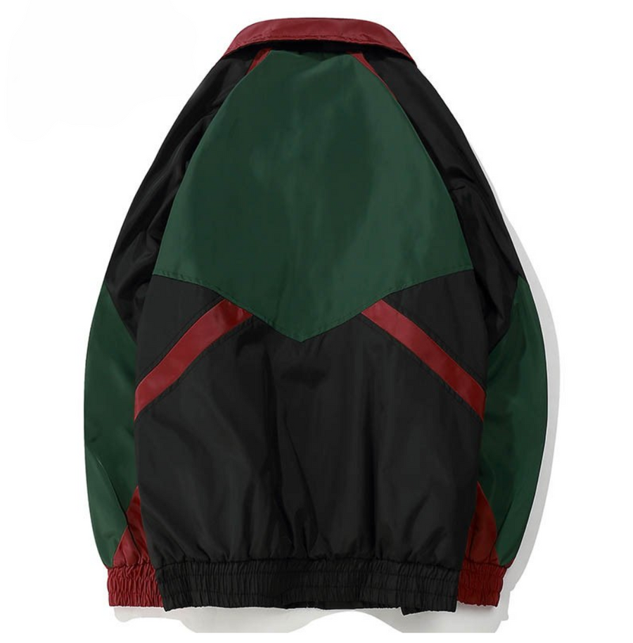 Refusion Campaign Colorblock Windbreaker