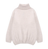 Oversized Thick Turtleneck Sweater