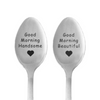 Good Morning Couple Spoons
