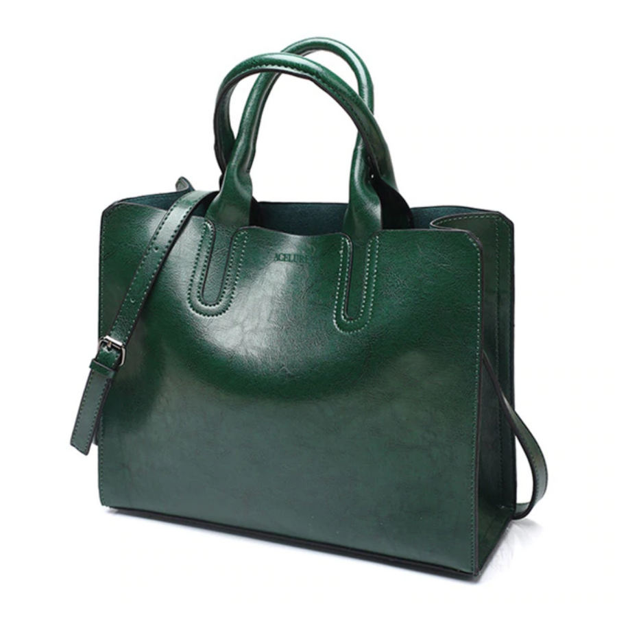 ACELURE Leather Handbag