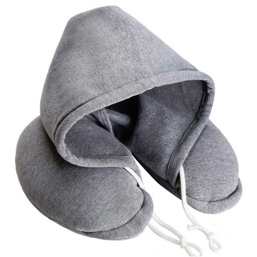 Body Neck Hoodie Pillow