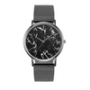 Stainless Steel Marble Watch