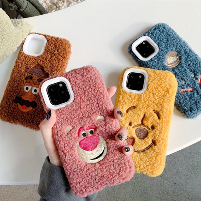 Cartoon Characters Furry Phone Case