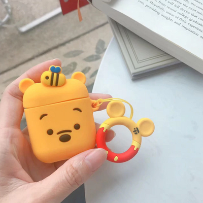 Cartoon Characters Airpod Protective Cases