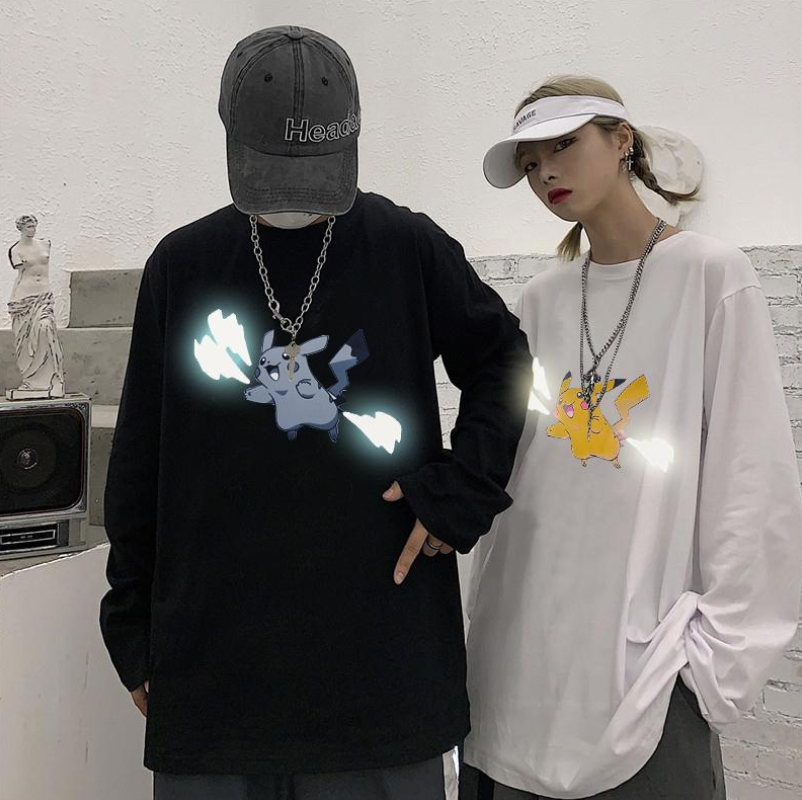 Reflective Pikachu Lightning Shirt
