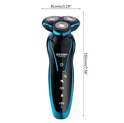 3D Rotary Rechargeable Electric Shaver