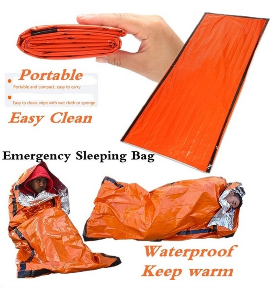 Emergency Waterproof Thermal Sleeping Bag