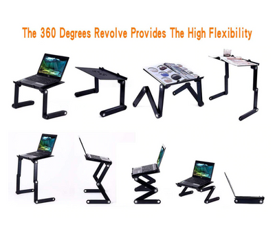Adjustable Folding Laptop Table Stand