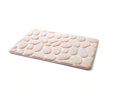 Coral Fleece Bathroom Memory Foam Mat