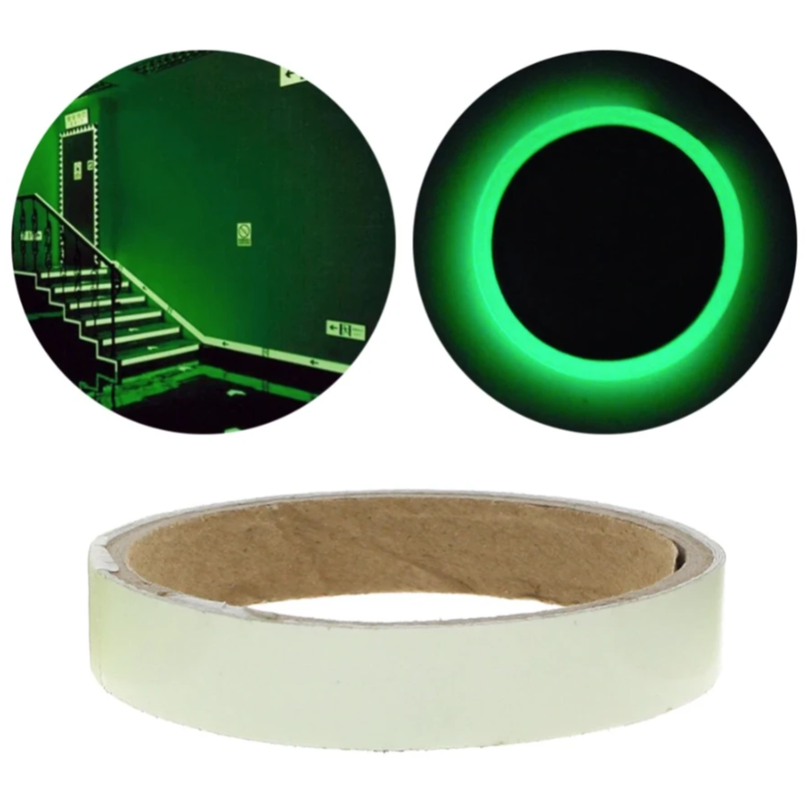 Glow-In-The-Dark Safety Tape