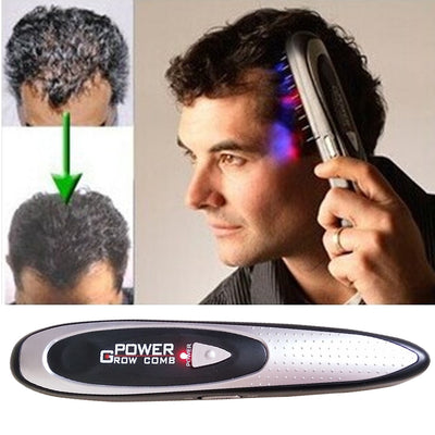 Electric Laser Hair Growth Comb Hair Brush Laser