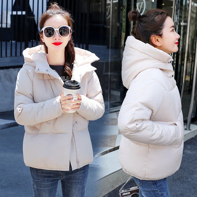 Hooded Bakery Down Coat Jacket
