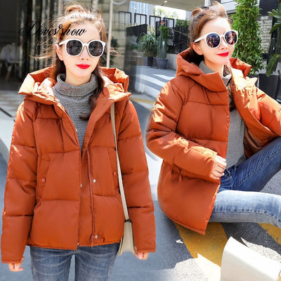 Hooded Bakery Down Coat Jacket - Winter Coats - Coats & Jackets