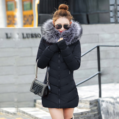 Long Padded Puffer Down Jacket - Coats & Jacket - Winter Clothes