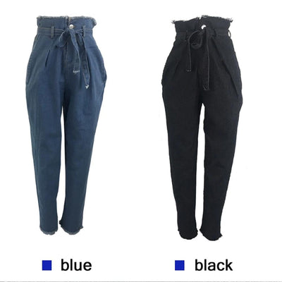 High Waisted Jeans Pants