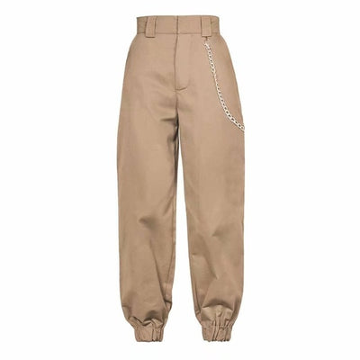 High Waist Cargo Sweatpants