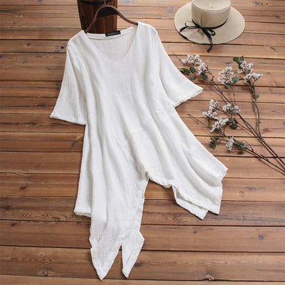 Asymmetrical Earth Tunic